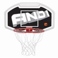 Баскетбольный комплект (щит, кольцо, сетка) AND1 BASKETBALL BACKBOARD 110 см, фото 1