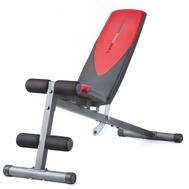 Силовая скамья - WEIDER PRO 255 L, пресс, жим на свободных весах, фото 1