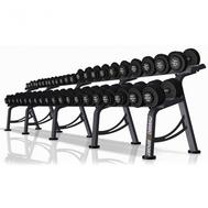 Гантельный ряд на подставке, 4-46 кг (22 пары) Marbo Sport MP-SH4-46 KG, фото 1