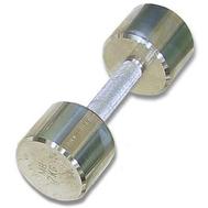 Гантель хромированная для фитнеса 8 кг MB-FitM-8, фото 1