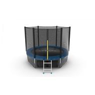 Батут EVO JUMP EXTERNAL 8 FT BLUE + LOWER NET, фото 1