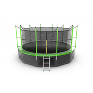 Батут EVO JUMP INTERNAL 16FT GREEN + LOWER NET, фото 1