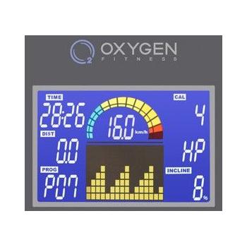 Беговая дорожка OXYGEN PLASMA III LC HRC, фото 8