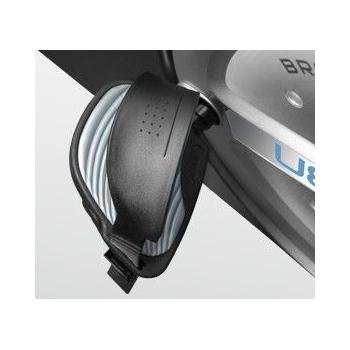 Электромагнитный вертикальный велотренажёр BRONZE GYM U801 LC, фото 11