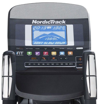 Эллиптический электромагнитный тренажёр - NORDICTRACK AUDIOSTRIDER 400, фото 6