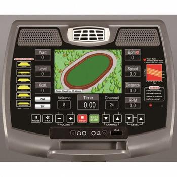 Профессиональный велотренажёр AeroFit 9900B 10 LCD, электромагнитный, фото 7
