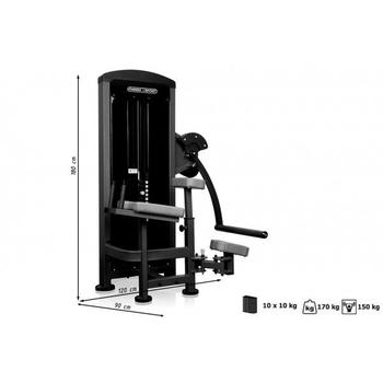Ягодичные мышцы Marbo Sport MP-U222, фото 4